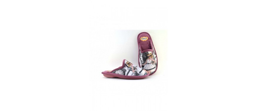 Zapatillas casa señora