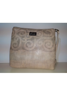 BOLSO FASHION PLATA