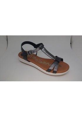 SAND. PLANA  SANDALS ROBLE