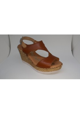 SAND. CUÑA  SANDALS ROBLE