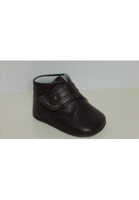 BOTA VELCRO CHOCOLATE