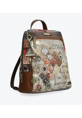 MOCHILA ANEKKE EGYPTO MARRON