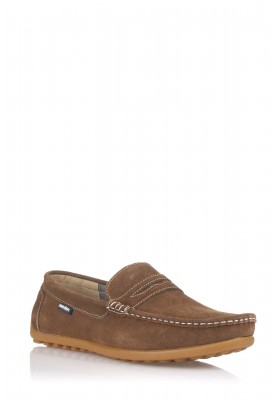 MOCASIN ANTIFAZ CAMEL